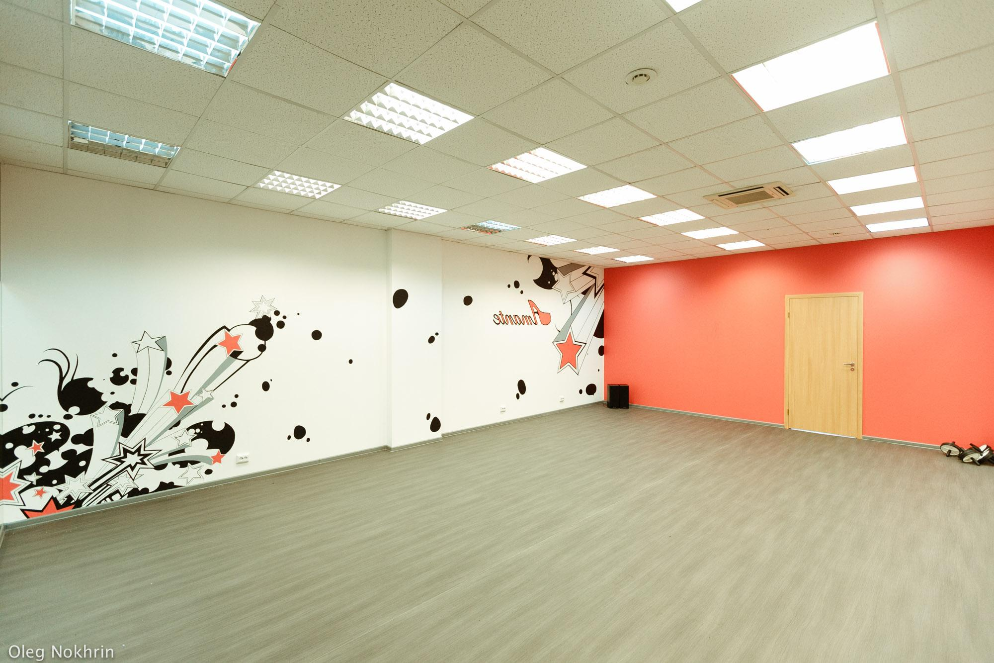 Рисунок зала с танцами